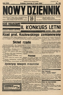 Nowy Dziennik. 1934, nr135