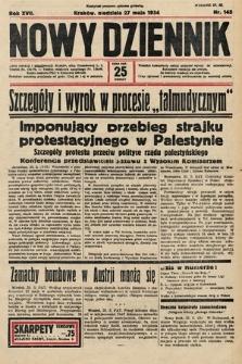 Nowy Dziennik. 1934, nr145
