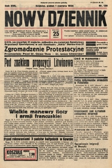 Nowy Dziennik. 1934, nr150