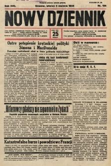 Nowy Dziennik. 1934, nr154