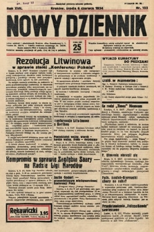Nowy Dziennik. 1934, nr155