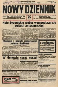 Nowy Dziennik. 1934, nr156