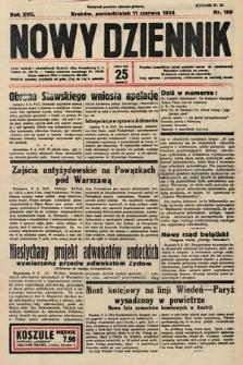 Nowy Dziennik. 1934, nr160