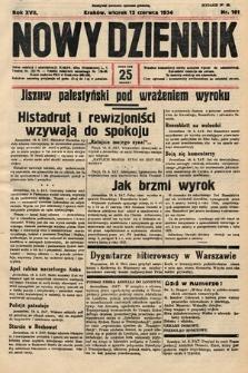 Nowy Dziennik. 1934, nr161