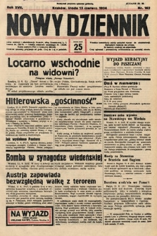 Nowy Dziennik. 1934, nr162