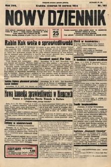 Nowy Dziennik. 1934, nr163