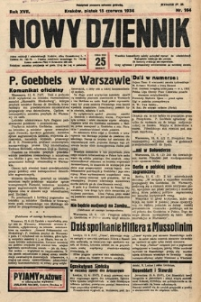 Nowy Dziennik. 1934, nr164