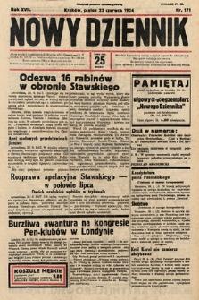 Nowy Dziennik. 1934, nr171