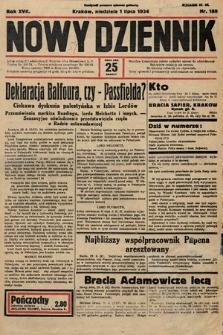 Nowy Dziennik. 1934, nr180