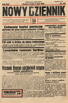 Nowy Dziennik. 1934, nr190