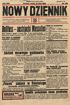 Nowy Dziennik. 1934, nr192