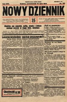 Nowy Dziennik. 1934, nr195