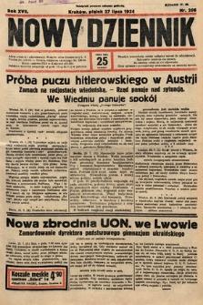 Nowy Dziennik. 1934, nr206