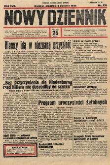 Nowy Dziennik. 1934, nr215