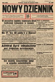 Nowy Dziennik. 1934, nr225