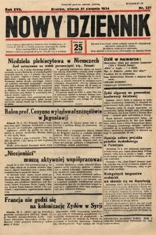 Nowy Dziennik. 1934, nr231