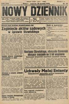Nowy Dziennik. 1934, nr25