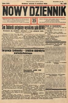 Nowy Dziennik. 1934, nr245