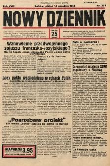 Nowy Dziennik. 1934, nr253