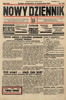 Nowy Dziennik. 1934, nr282