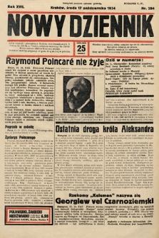Nowy Dziennik. 1934, nr284