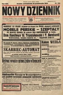 Nowy Dziennik. 1934, nr289