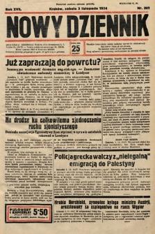 Nowy Dziennik. 1934, nr301