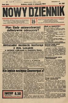 Nowy Dziennik. 1934, nr307