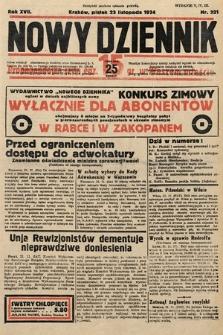 Nowy Dziennik. 1934, nr321