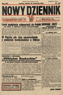 Nowy Dziennik. 1934, nr322