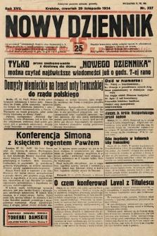 Nowy Dziennik. 1934, nr327