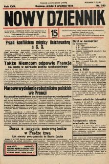 Nowy Dziennik. 1934, nr333