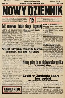 Nowy Dziennik. 1934, nr336