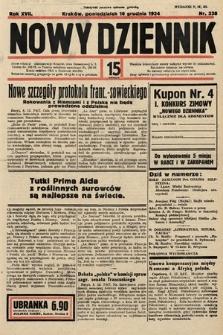 Nowy Dziennik. 1934, nr338