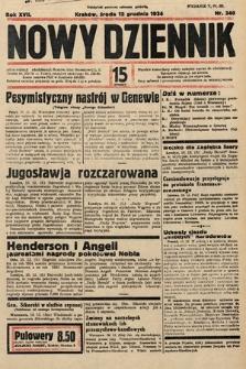 Nowy Dziennik. 1934, nr340