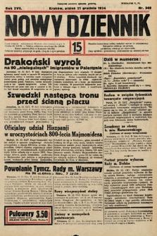 Nowy Dziennik. 1934, nr349
