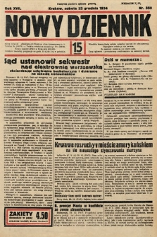 Nowy Dziennik. 1934, nr350