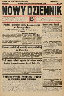 Nowy Dziennik. 1934, nr358