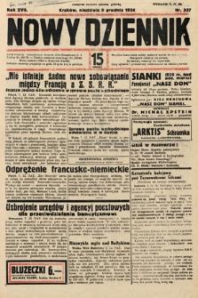 Nowy Dziennik. 1934, nr337