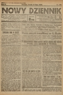 Nowy Dziennik. 1921, nr180