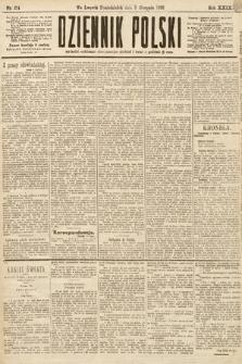 Dziennik Polski. 1896, nr214