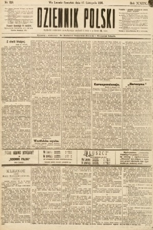 Dziennik Polski. 1896, nr329