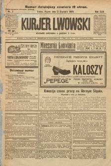 Kurjer Lwowski. 1925, nr2