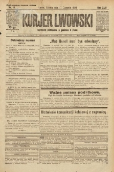 Kurjer Lwowski. 1925, nr13