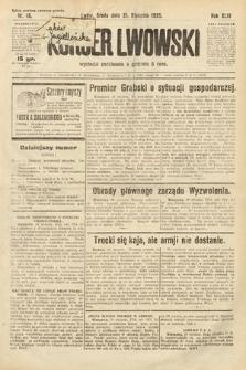 Kurjer Lwowski. 1925, nr16
