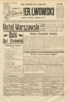 Kurjer Lwowski. 1925, nr33