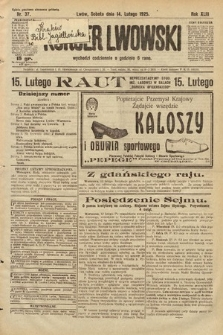 Kurjer Lwowski. 1925, nr37