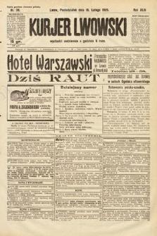 Kurjer Lwowski. 1925, nr39