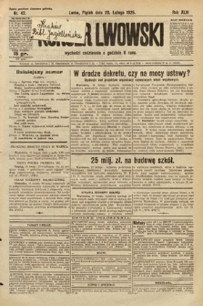 Kurjer Lwowski. 1925, nr42