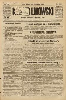 Kurjer Lwowski. 1925, nr49